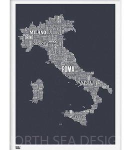 Type Map Italië