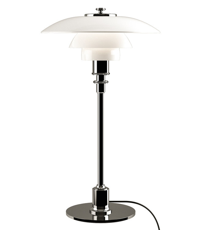 Louis Poulsen PH 2/1 Desk Lamp Glass