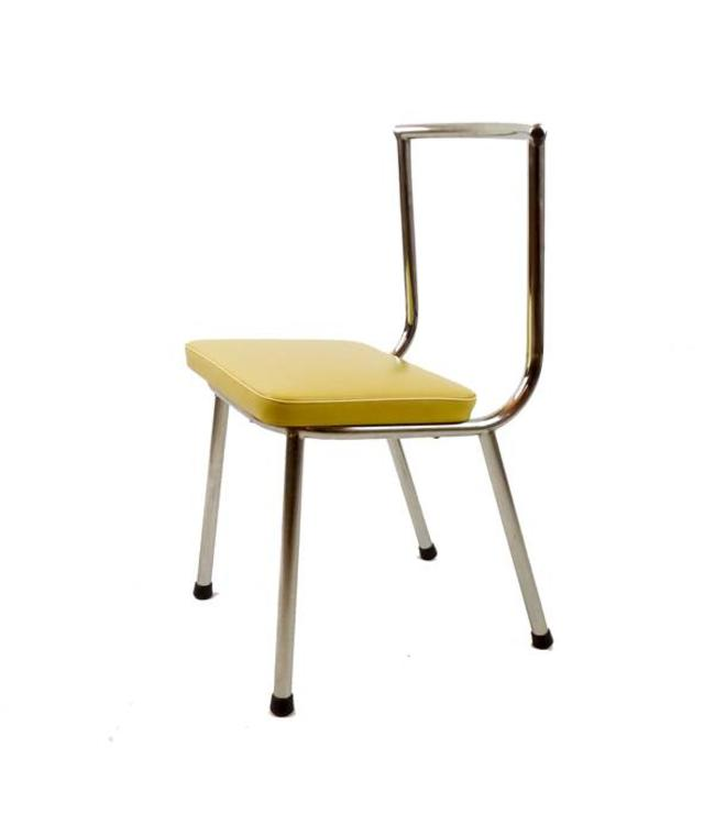 Vintage Fifties tubular frame chair