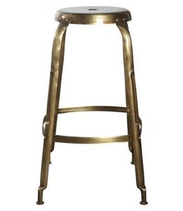House Doctor Bar Stool Define Gold