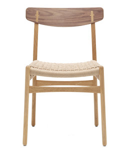 Carl Hansen & Søn CH23 Chair | Oak  and Walnut Mix