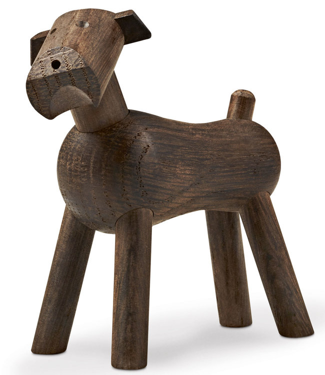 Kay Bojesen Wooden Dog Tim | Smoked Oak