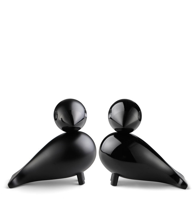 Kay Bojesen Set Love Birds Black