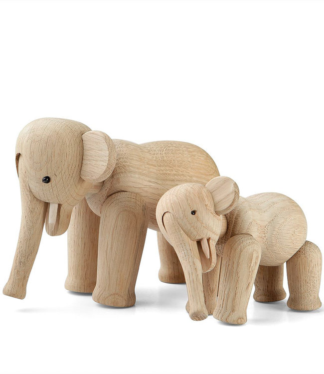 Kay Bojesen Oak Mini Elephant