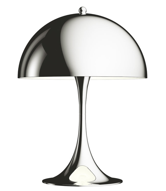Louis Poulsen Panthella Table Lamp Mini LED Chrome
