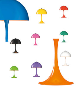 Louis Poulsen Panthella Mini Table Lamp Color