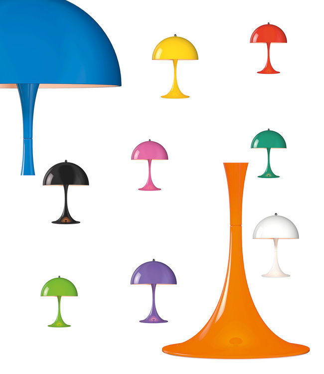 Louis Poulsen Panthella Mini LED Table Lamp Colors