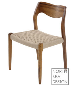 J. L. Møller Chair Model 71 | N.O. Møller