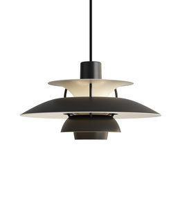 Louis Poulsen PH5 Mini Monochrome Pendant Black