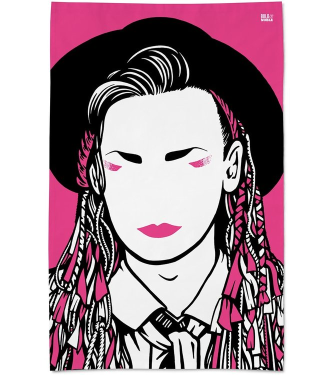 Bold & Noble Icons Theedoek Boy George Culture Club