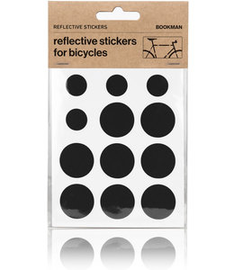 Bookman  Reflecterende Stickers Rond