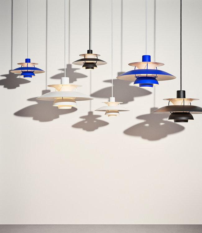 Louis Poulsen PH5 Pendant Lamp in Monochrome white