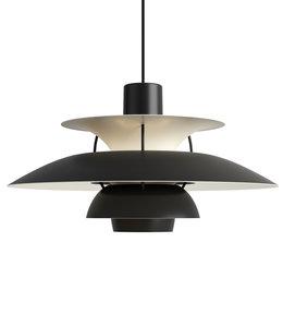 Louis Poulsen PH5 Monochrome Hanglamp Zwart