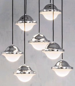 Pandul BUBI Pendant Lamp Chrome