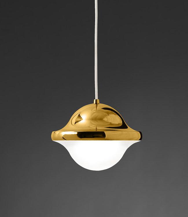 Pandul BUBI Hanglamp goudkleurig messing