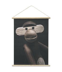 Kay Bojesen Monkey poster Portret