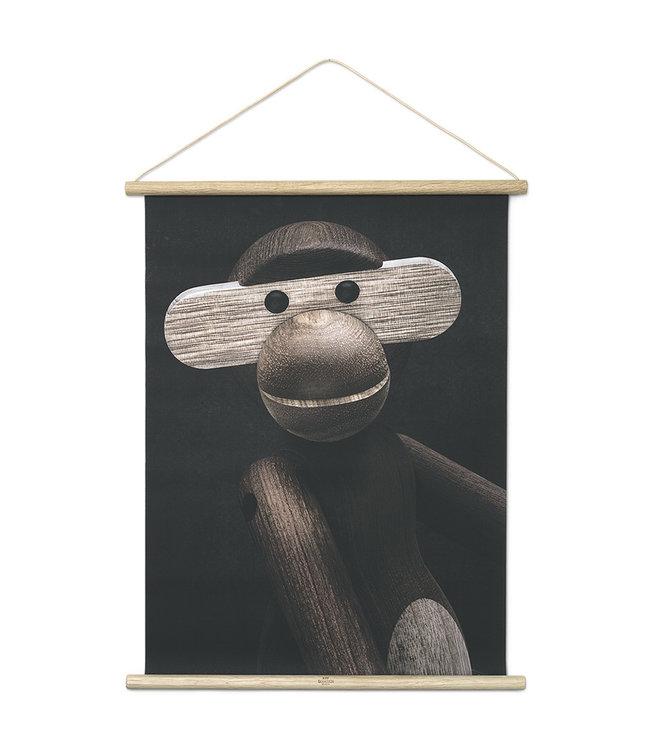 Kay Bojesen Monkey poster Aap portret