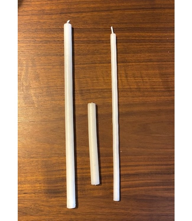 Vintage Pencil Candles Extra Thin 9mm