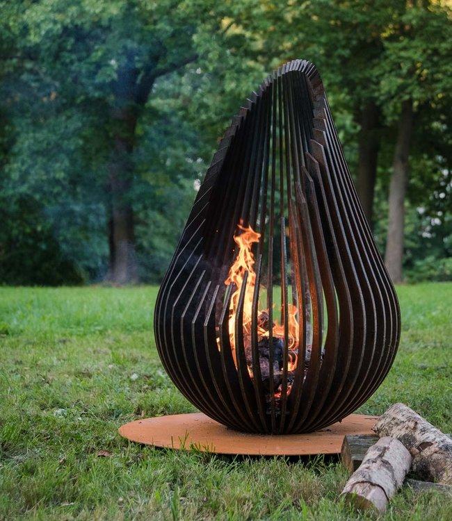 Glowbus Dewdrop L garden fire place