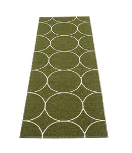 Pappelina Rug Boo Dark Olive