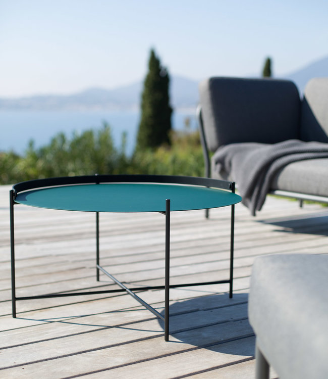 Houe EDGE Tray Table Ø 76 cm Garden coffee table