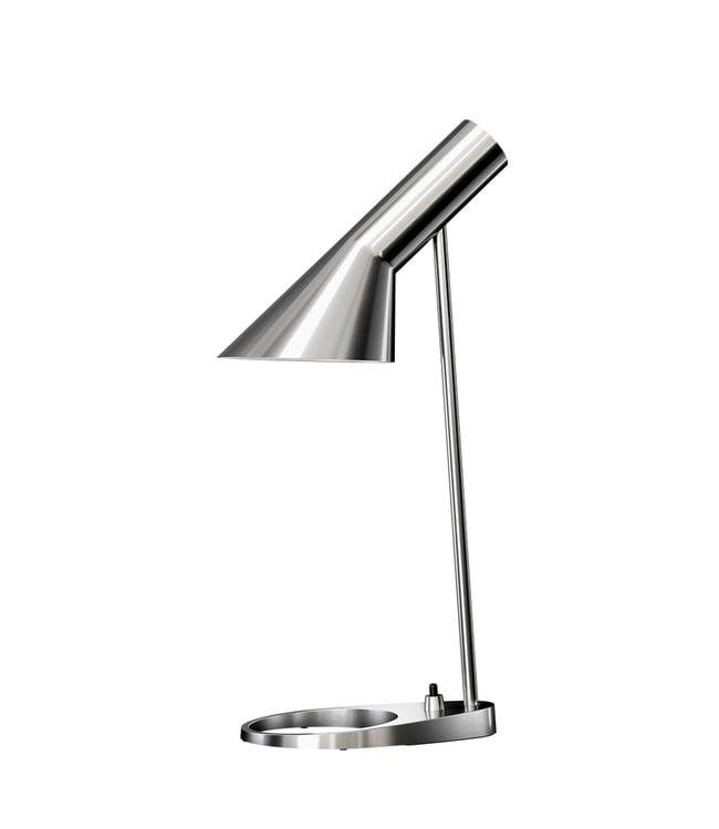 Louis Poulsen AJ Tafel lamp Gepolijst RVS mini