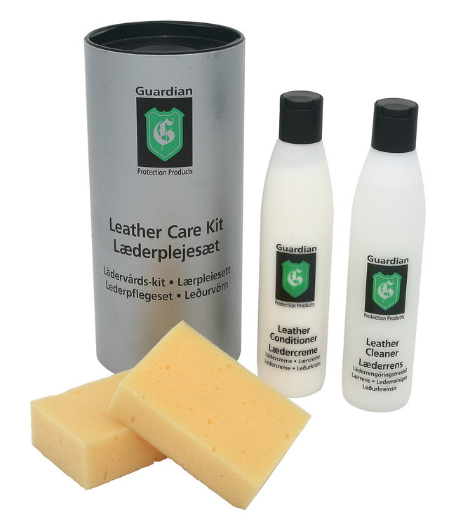 Guardian Leather Care Kit Cleaning and Conditioner