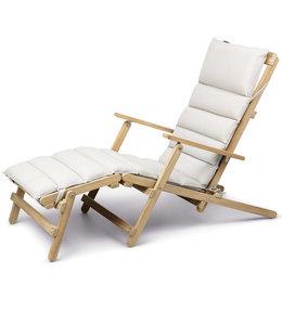 Carl Hansen & Søn BM5565  Deck Chair met voetenbank
