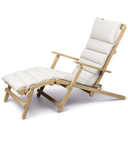 Carl Hansen & Søn BM5565 Deck chair with Footrest