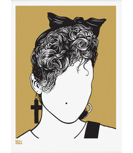 Bold & Noble Screen print Madonna
