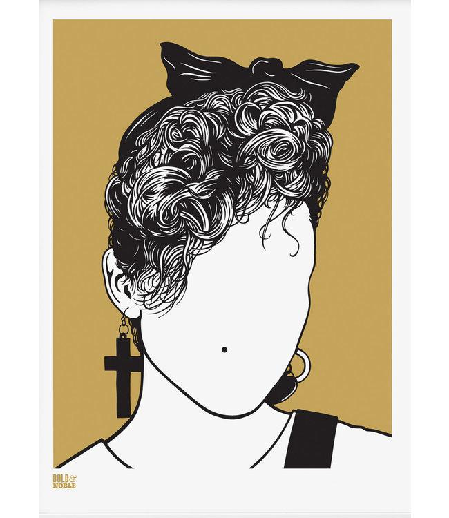 Madonna art print poster