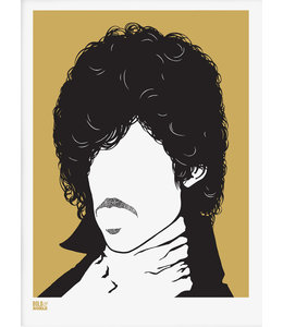 Bold & Noble Screen print Prince