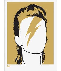 Bold & Noble Zeefdruk David Bowie