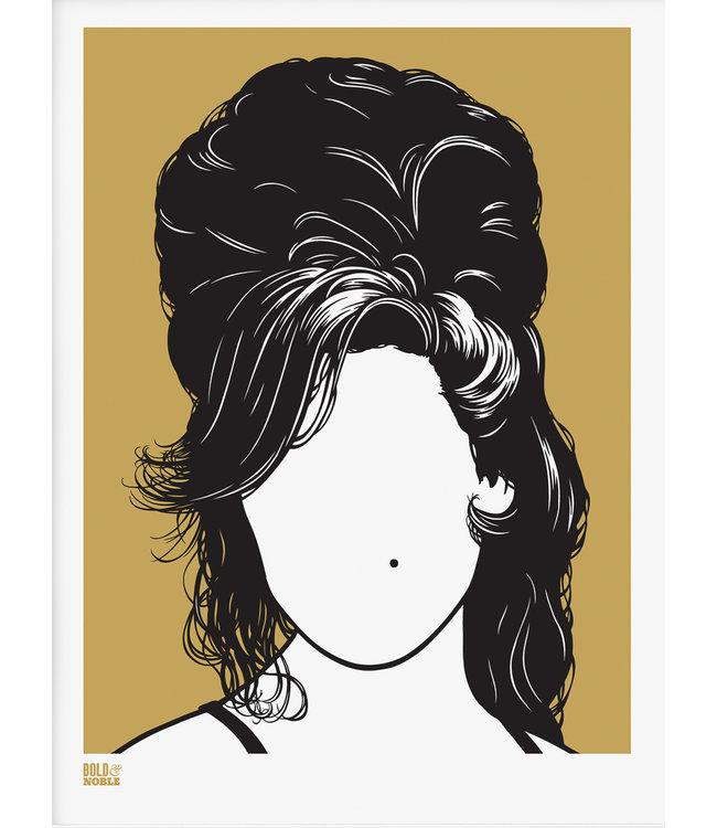 Bold & Noble Amy Winehouse | Screen Print