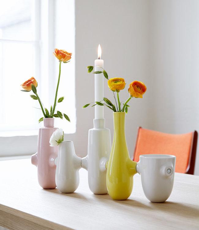 Kähler Design Fiducia candlesticks and vase set