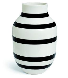 Kähler Design Omaggio Vase H31 Black