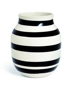 Kähler Design Omaggio Vase H20 Black