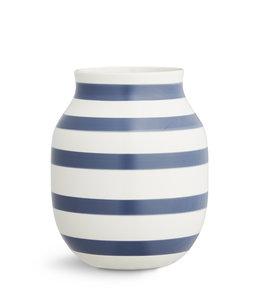Kähler Design Omaggio Vase H20 Blue
