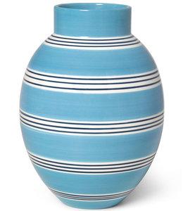 Kähler Design Vase Omaggio Nuovo Peacock Blue