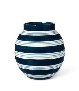 Kähler Design Vase Omaggio Nuovo Dark Blue