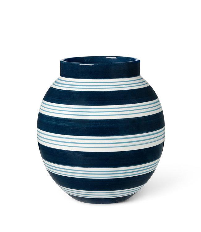Kähler Design Vaas Omaggio Nuovo H20,5 Dark Blue