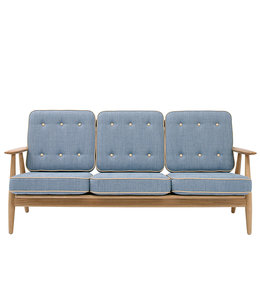 Getama GE 240 3-zits Sofa  | Hans Wegner