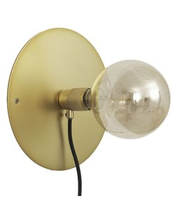 Frama CPH Wall Lamp E27 Brass | 25 cm