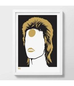 Screen print Bowie | Ziggy