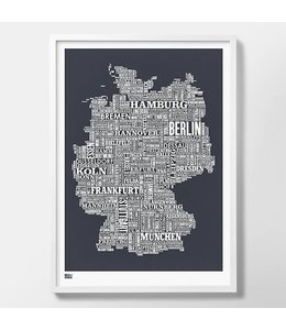 Bold & Noble Germany Screen Print