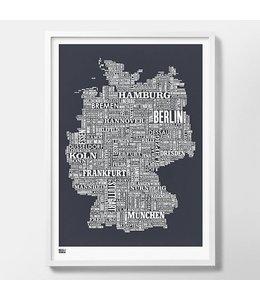 Zeefdruk Duitsland