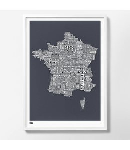 Bold & Noble France Screen Print