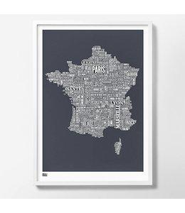 Zeefdruk Frankrijk