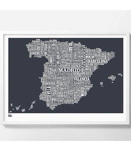 Bold & Noble Zeefdruk Spanje