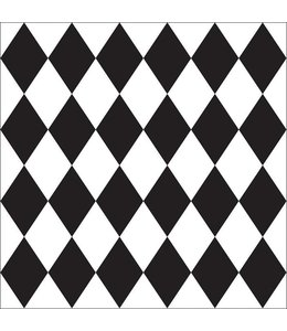 Tile Junkie Tile Sticker Harlequin pattern